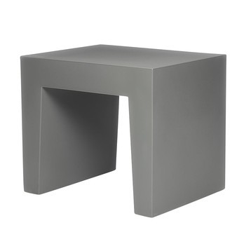 Fatboy - Concrete Seat Hocker - grau/40x50x43cm