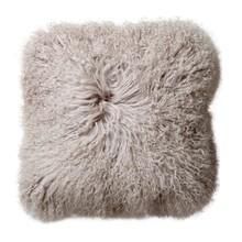 Bloomingville - Coussin peau de mouton mongol 35x35cm