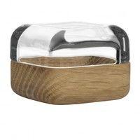 iittala - Vitriini Glasschaukästchen mit Holz/Alu