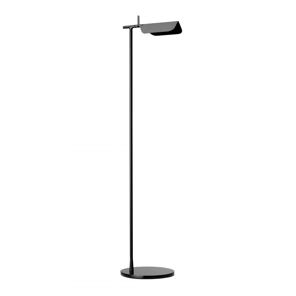 led floor lamp. flos tab f led floor lamp blackglossy led