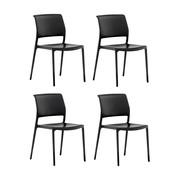 Pedrali - Set de 4 chaises de jardin Ara 310