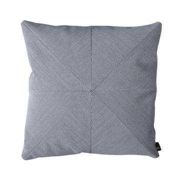 HAY - Puzzle Cushion Pure Sofakissen 50x50cm - hellgrau/Stoff Steelcut Trio 133
