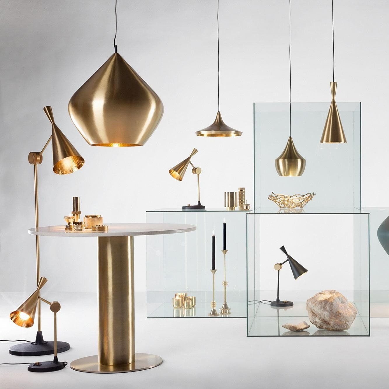 Tom Dixon Beat Wide Suspension Lamp | AmbienteDirect