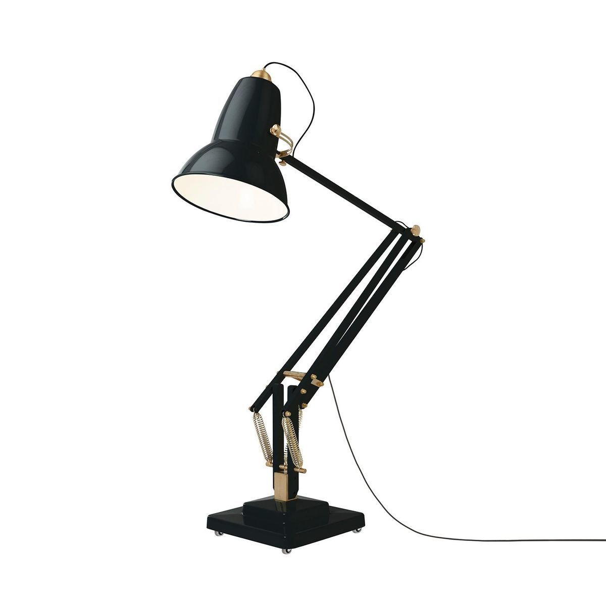 Original 1227 giant brass led floor lamp anglepoise - Giant anglepoise lamp ...