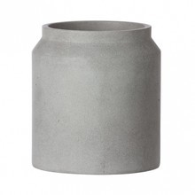 ferm LIVING - ferm LIVING Pot Concrete/Vessel Small