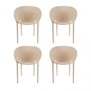 Driade - Soft Egg Garden Armchair Set of 4