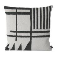 ferm LIVING - Kelim Black Lines Cushion