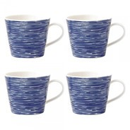 Royal Doulton - Pacific Brush Tasse 4er Set