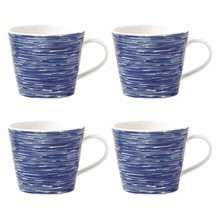 Royal Doulton - Pacific Brush Mug Set of 4