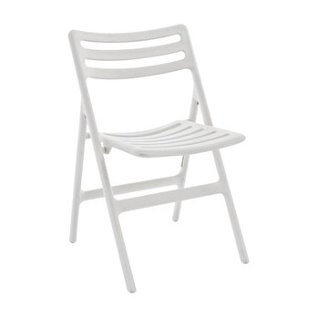 Magis - Folding Air Chair - weiß/Polypropylen/klappbar