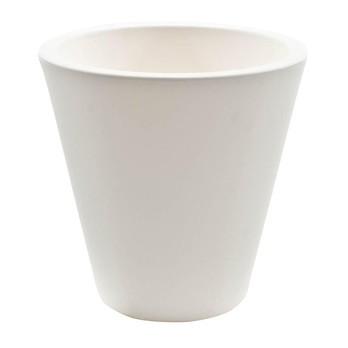 Serralunga - New Pot Vase Ø 28cm - weiß/matt