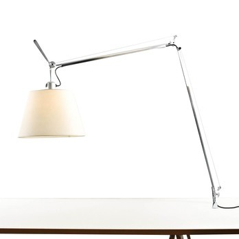 Artemide Tolomeo Mega Lampe De Table Pergamena Ambientedirect