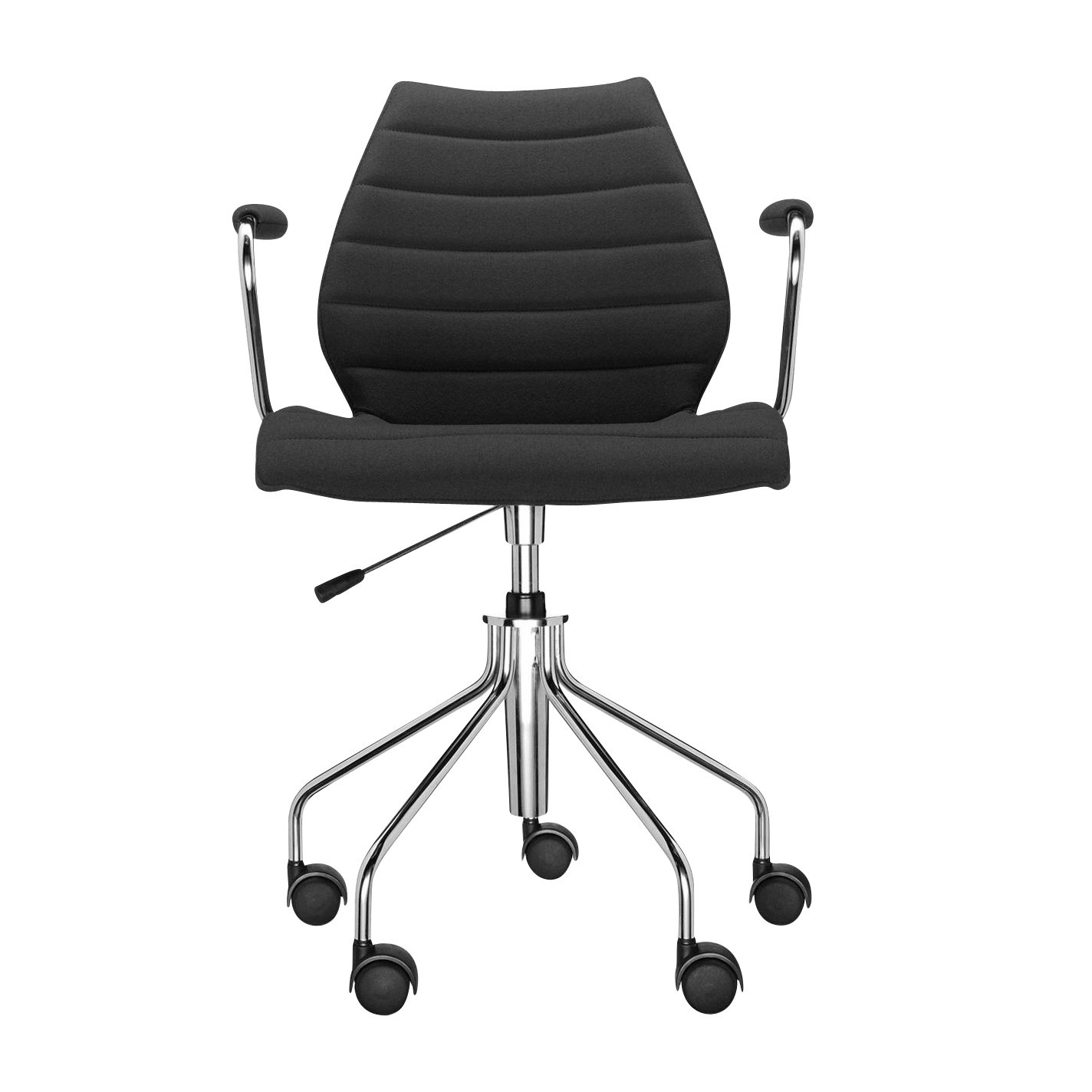 Kartell Maui Soft Office Chair With Armrests Ambientedirect