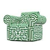 Moooi: Hersteller - Moooi - Labyrinth Sessel   Ausstellungsstück