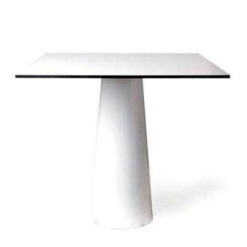 Moooi - Moooi Container Table Tisch 80x80cm - weiß/Laminat/H70cm/80x80x70cm