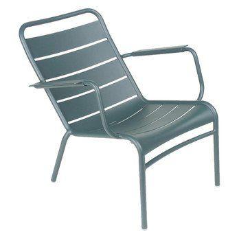 Fermob - Luxembourg Tiefer Sessel - zederngrün/lackiert/tief/69.2x72x86.4cm