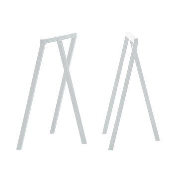 HAY - Loop Stand Frame 2 pieces - white/H: 72cm/64,5x37cm