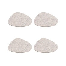 Hey-Sign - Stone Glasuntersetzer 4er Set 15x13cm