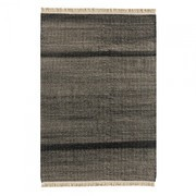 Nanimarquina - Tres Texture Black Outdoor Teppich 200x300cm