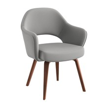 Knoll International - Saarinen Conference Armchair - walnut