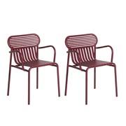 Petite Friture - Week-End Bridge Garden Armchair Set of 2