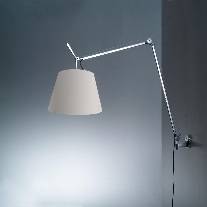 tolomeo mega parete lampe satin artemide. Black Bedroom Furniture Sets. Home Design Ideas