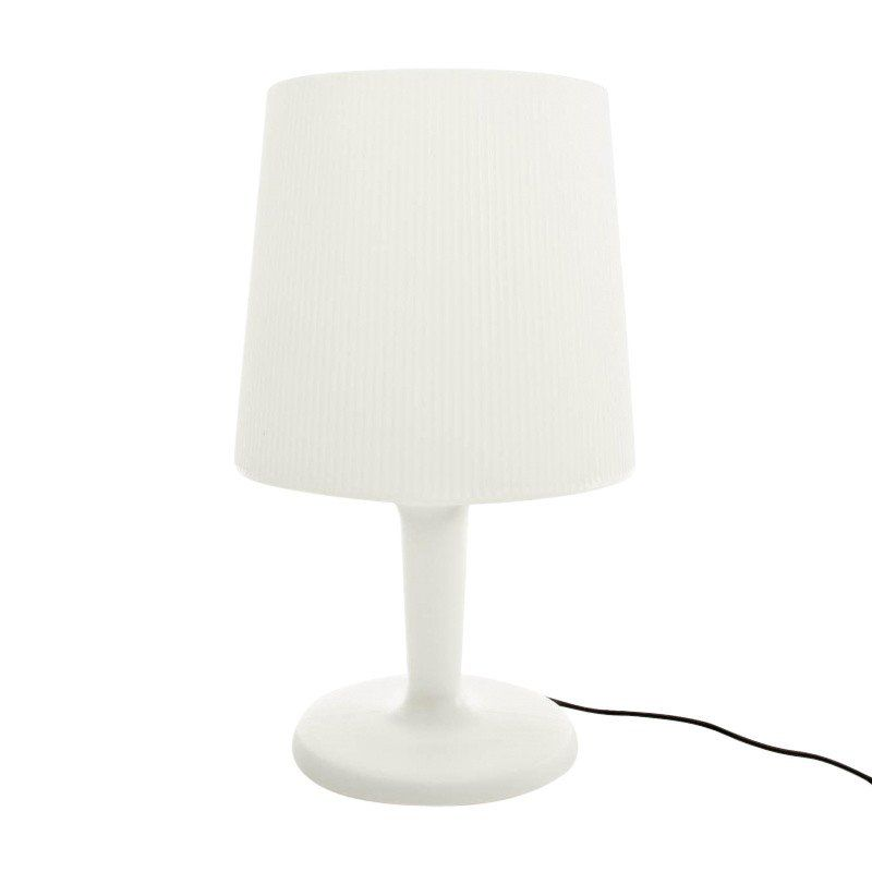 Metalarte inout pe table lamp white