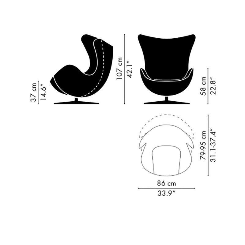 Fritz Hansen Special Edition 2020 Egg Chair Loungechair Ambientedirect