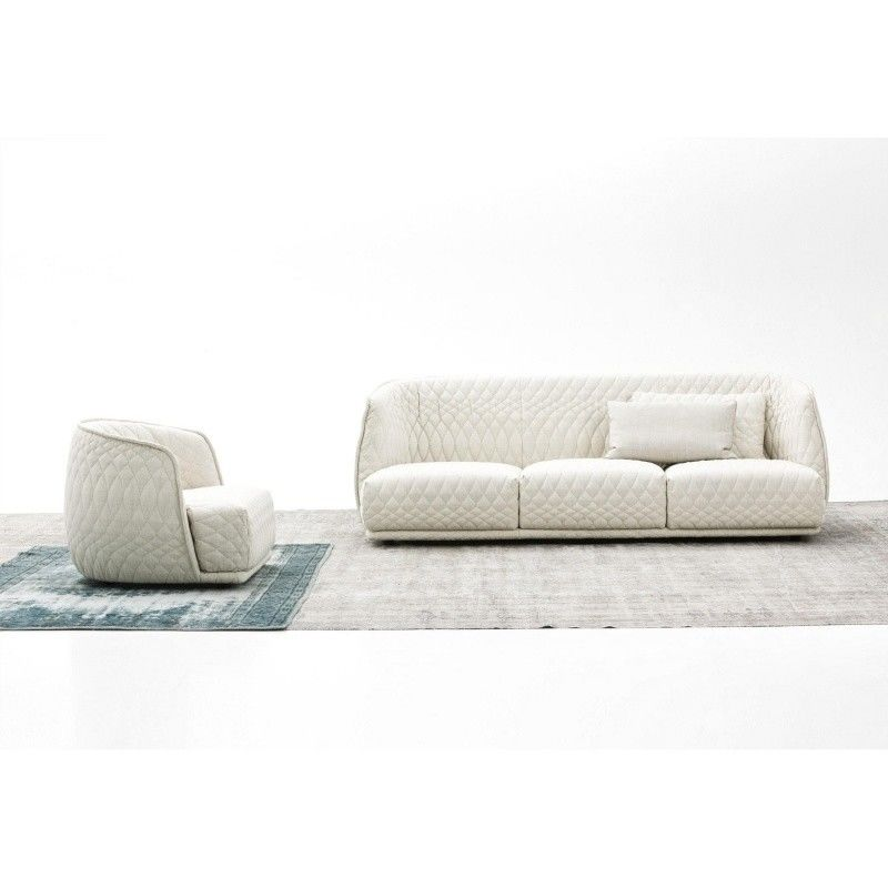Redondo sofa 4 places moroso for Sofa redondo jardin