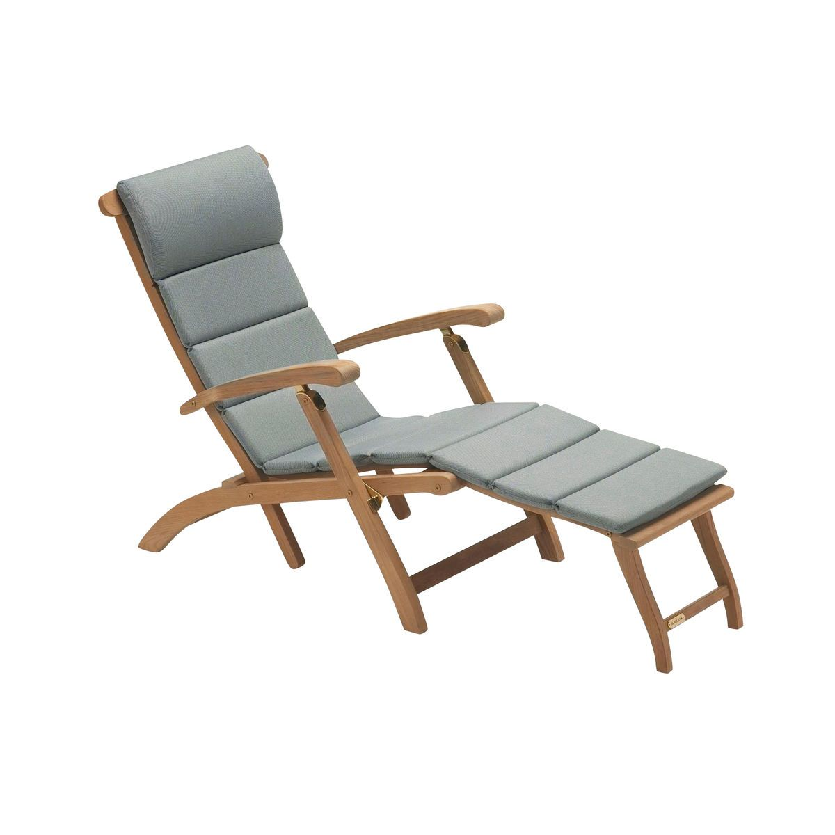 Awesome Skagerak   Steamer Cushion   Grey/Barriere® Liso/140x42x2cm