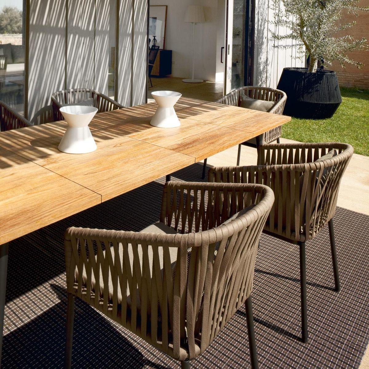 Bitta modern patio furniture by rodolfo dordoni - Kettal Bitta Garden Chair Armchair Bitta Garden Chair Armchair Kettal Ambientedirect