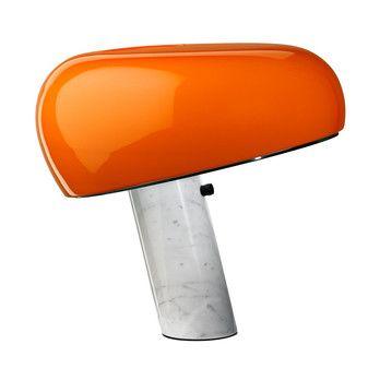 Flos - Special Edition Snoopy Tischleuchte - orange/glänzend