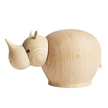 Woud - Rina Rhinoceros Wood Figure