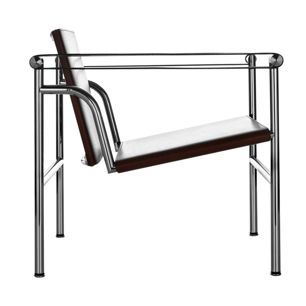 le corbusier lc1 fauteuil bas cassina. Black Bedroom Furniture Sets. Home Design Ideas