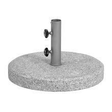 Weishäupl - Schirmständer Granit 63kg mit Hülse Ø4cm