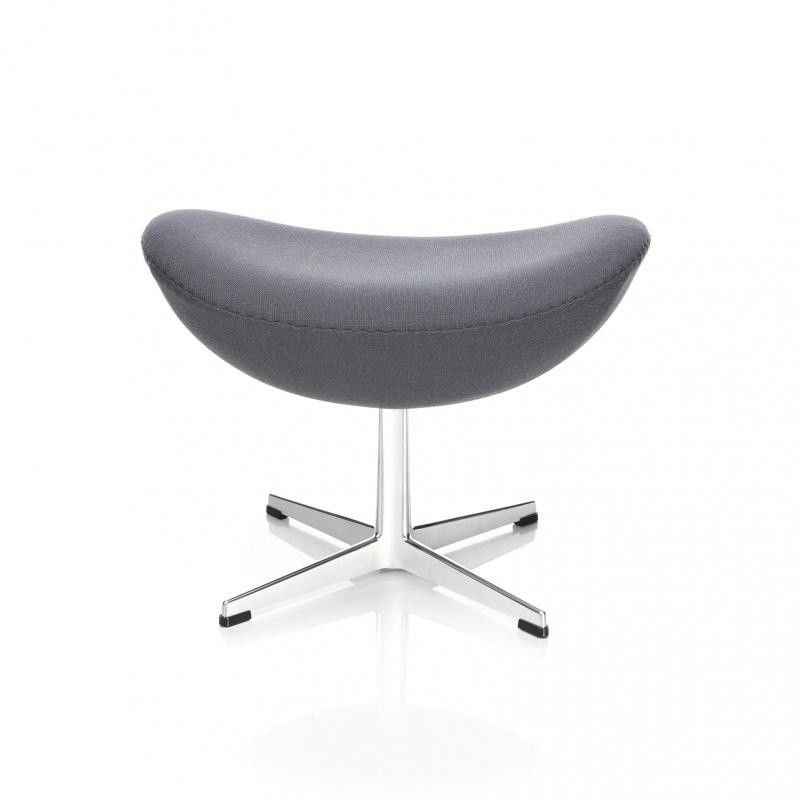 egg chair het ei voetenbank stof fritz hansen. Black Bedroom Furniture Sets. Home Design Ideas