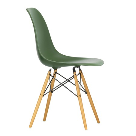 Pleasing Eames Plastic Side Chair Dsw Gouden Esdoorn Gmtry Best Dining Table And Chair Ideas Images Gmtryco