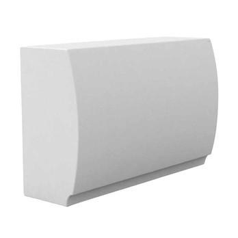 Vondom - Fiesta Thekenelement - weiß/matt/ohne Edelstahlabdeckung/ohne Fachböden