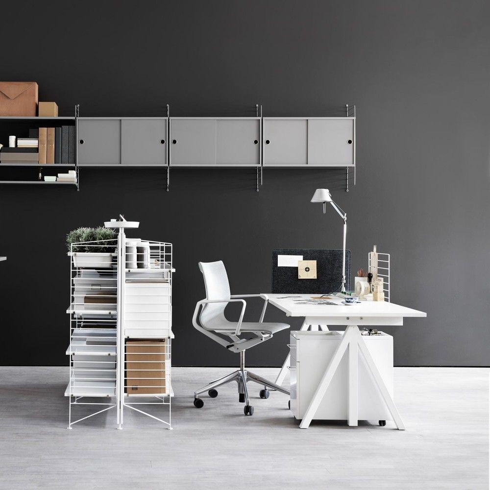 string office wandregal string. Black Bedroom Furniture Sets. Home Design Ideas