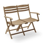 Skagerak - Selandia Outdoor 2 Seater Bench/Chair 100cm