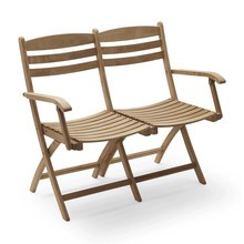 Skagerak - Selandia Outdoor 2 Seater Bench/Chair 100cm