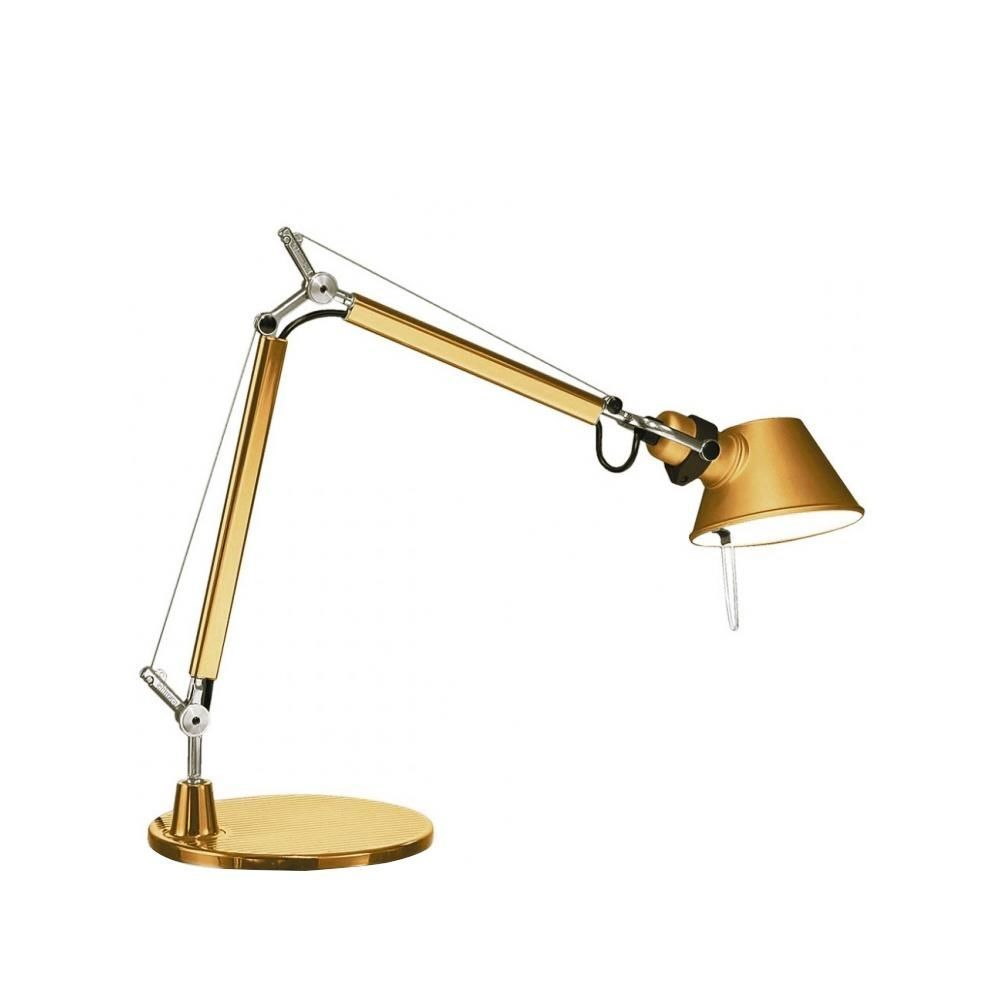 limited edition tolomeo micro tavolo gold artemide. Black Bedroom Furniture Sets. Home Design Ideas