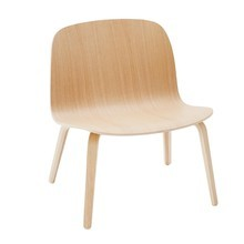 Muuto - Visu Lounge Chair With Wood Frame