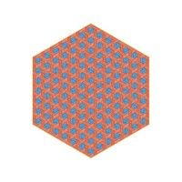 Moooi Carpets - Hexagon Carpet hexagonal