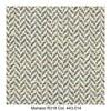 MDF Italia - Flow Slim Armlehnstuhl gepolstert New Edition 2 - olivgrün/weiß/Schale weiß/Gestell Eiche/Stoff Monaco R318 Col. 443.014/B56 x T56 x H76.4 cm