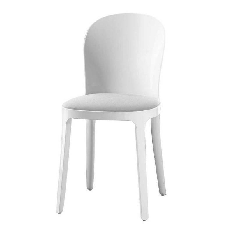 Magis   Vanity Chair White   White/fabric Kvadrat ...