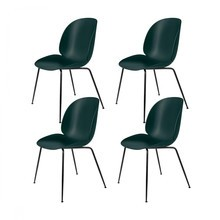 Gubi - Beetle Dining Chair - Stoel set van 4