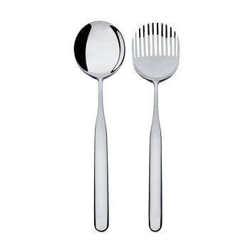 Alessi - Collo-Alto Salatbesteck - edelstahl/glänzend poliert/L 26,5cm