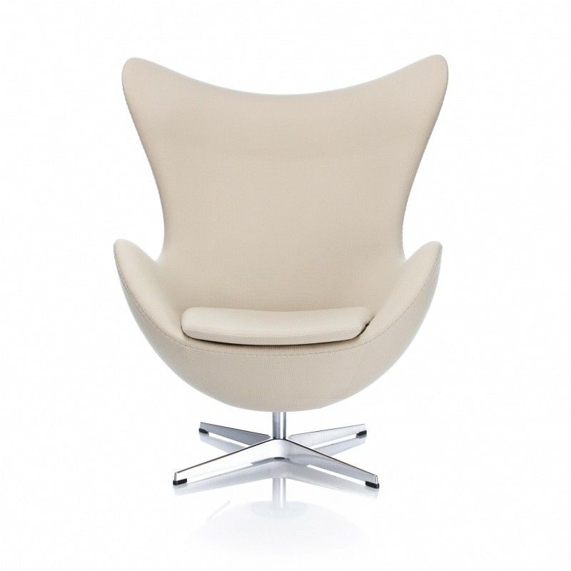 Egg chair chaise dite l 39 oeuf toffe fritz hansen - Chaise coquille d oeuf ...
