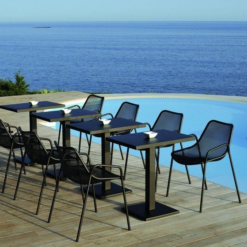 ... Emu   Round Garden Chair Set Of 4 ...